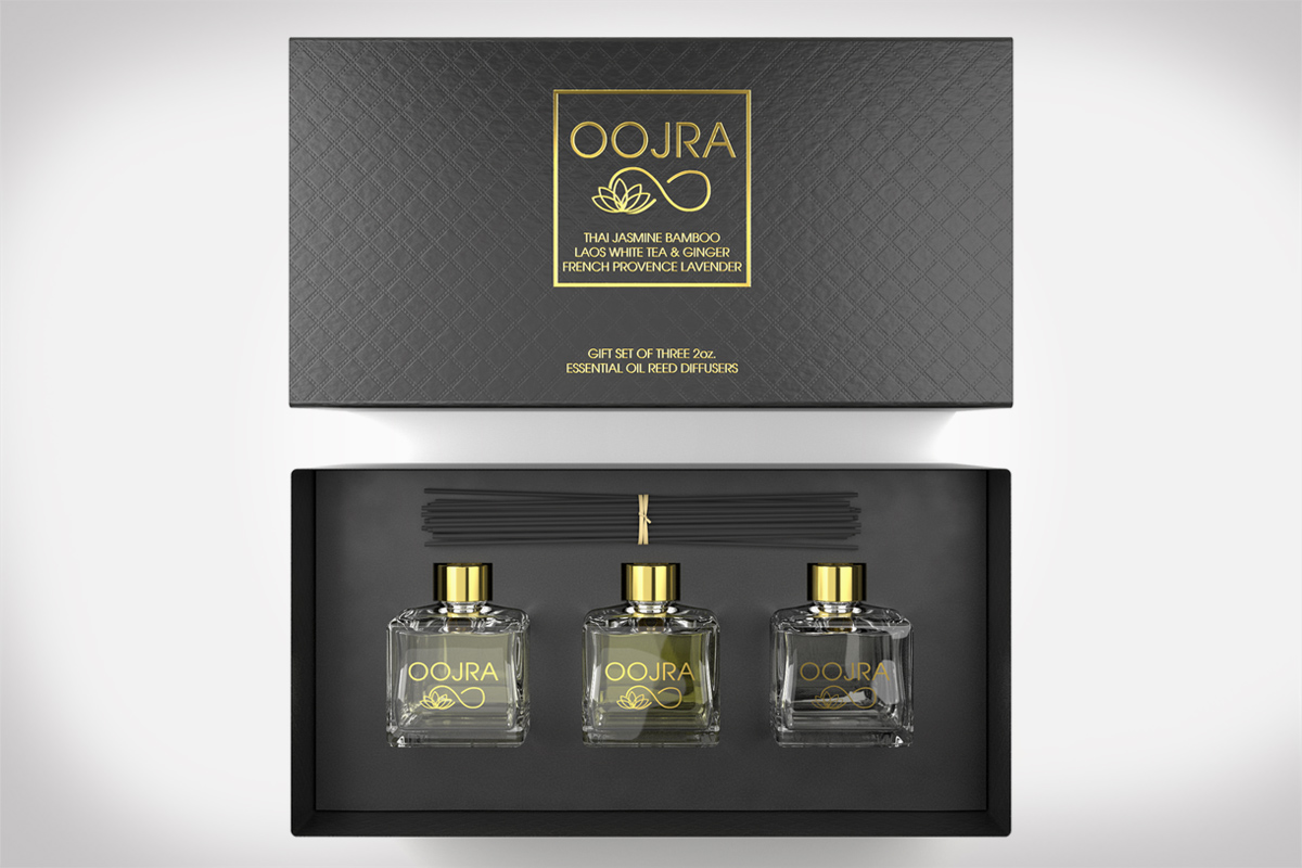 Oojra Oil Diffuser Gift Set