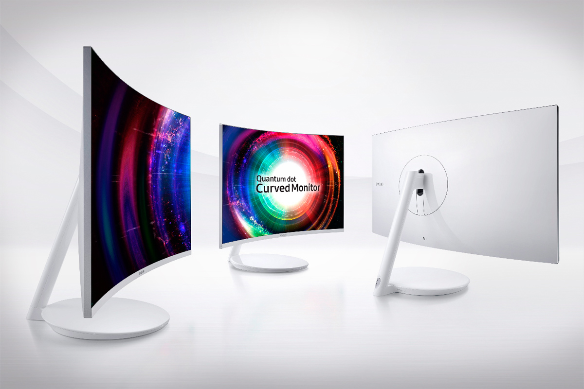Samsung Unveils Quantum Dot Curved Monitors