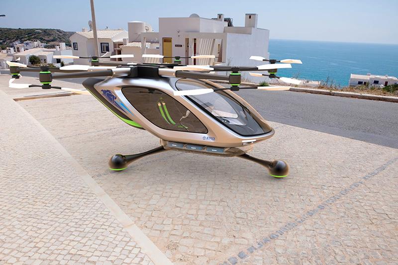 Jetpack Aviation Flying Car