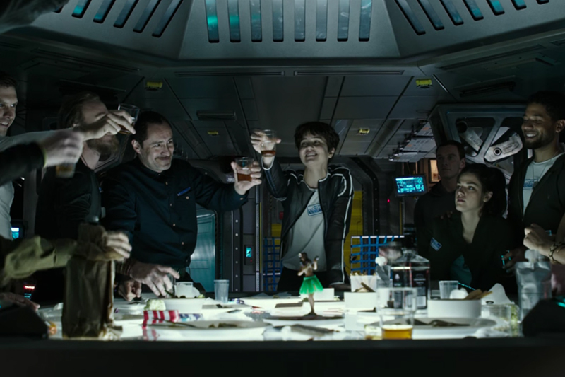 A Glimpse into Alien: Covenant with Prologue: Last Supper