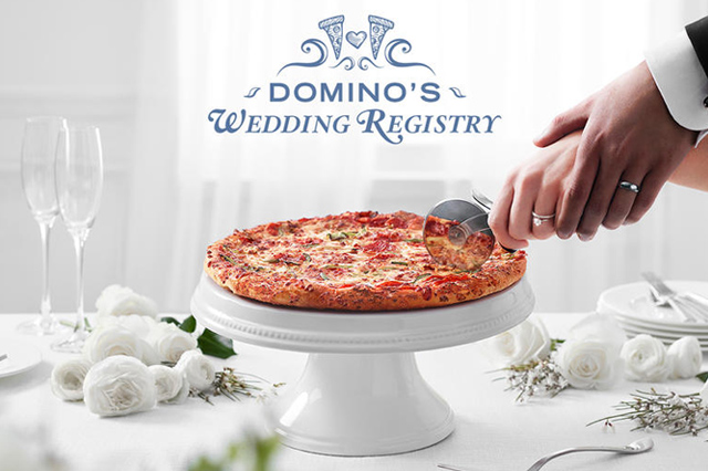 Domino's Wedding Registry