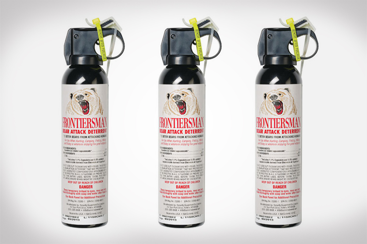 Frontiersman Bear Spray from SABRE