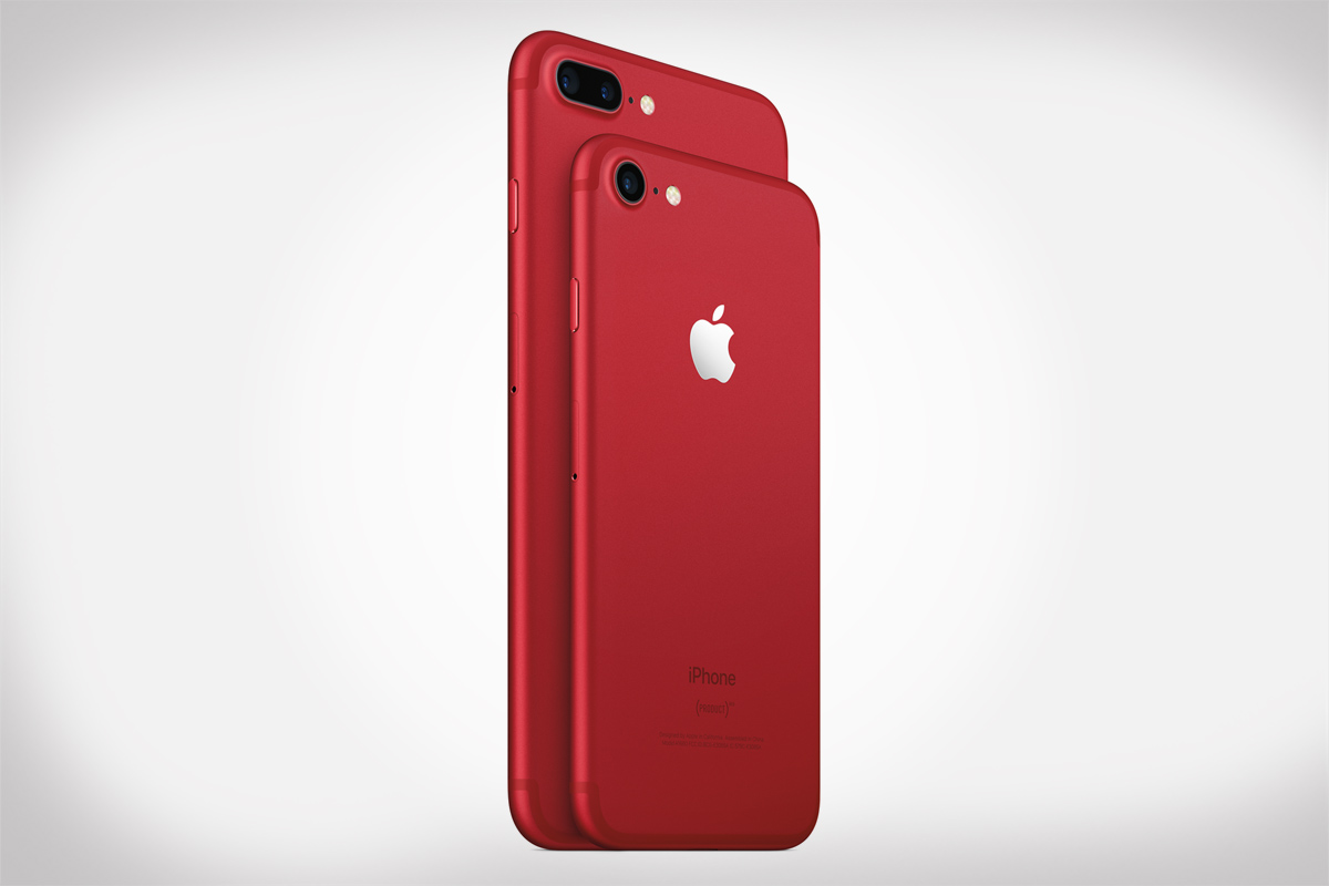 Apple Introduces iPhone 7 & iPhone 7 Plus (PRODUCT)RED Special Edition
