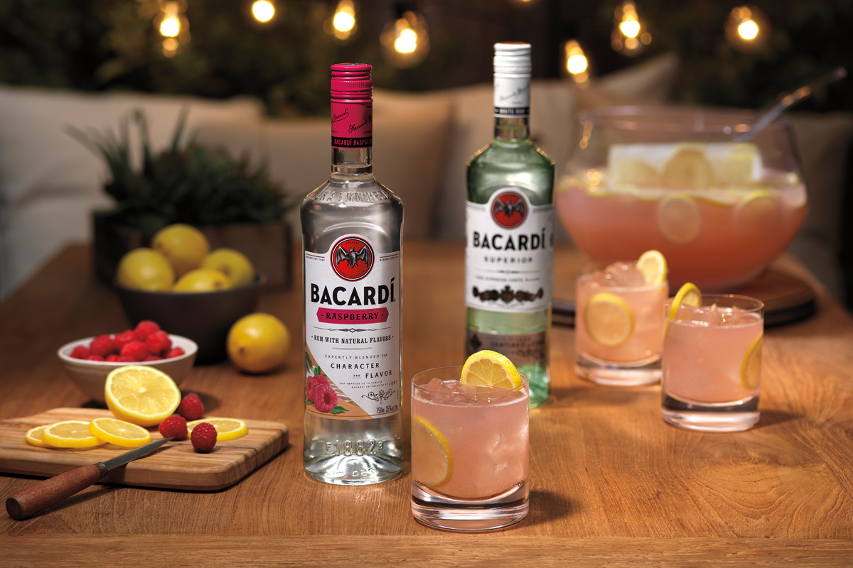 BACARDÍ Raspberry Punch Recipe