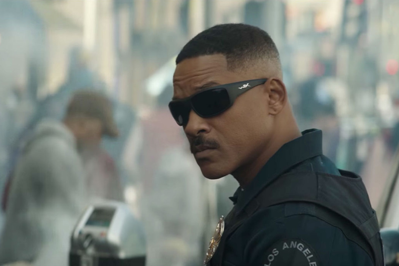 Netflix Original Film - Bright, starring Will Smith