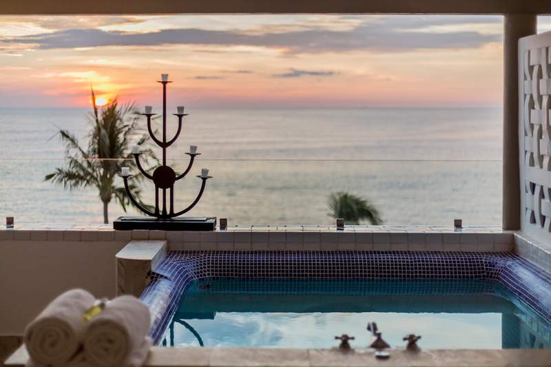Villa Premiere's Honey Moon suite view