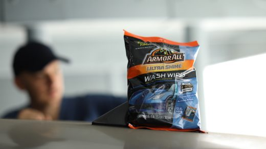 Ultra Shine Wash Wipes from Armor All