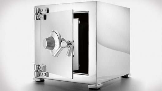 Asprey Sterling Silver Safe
