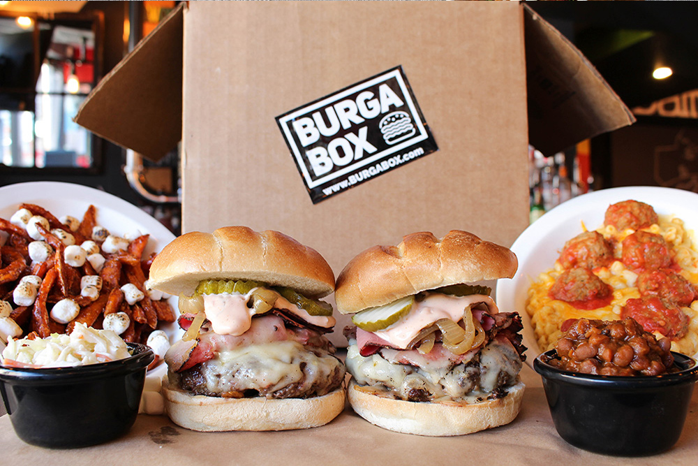 Burga Box Meal Delivery