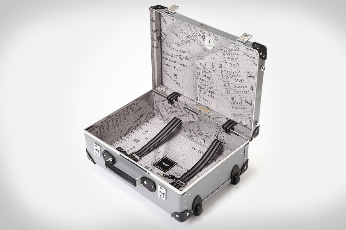 Globe-Trotter x Todd Snyder Suitcases