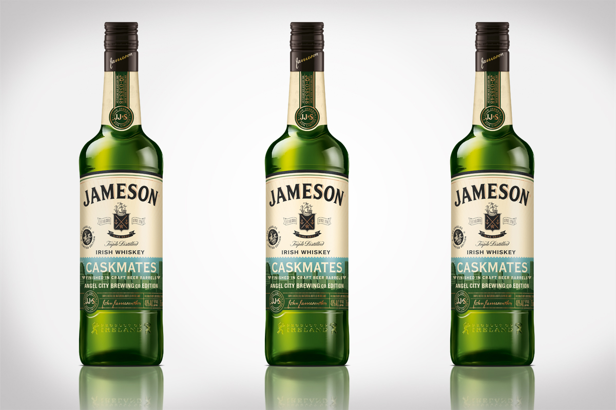 Jameson Caskmates Angel City Brewery Edition