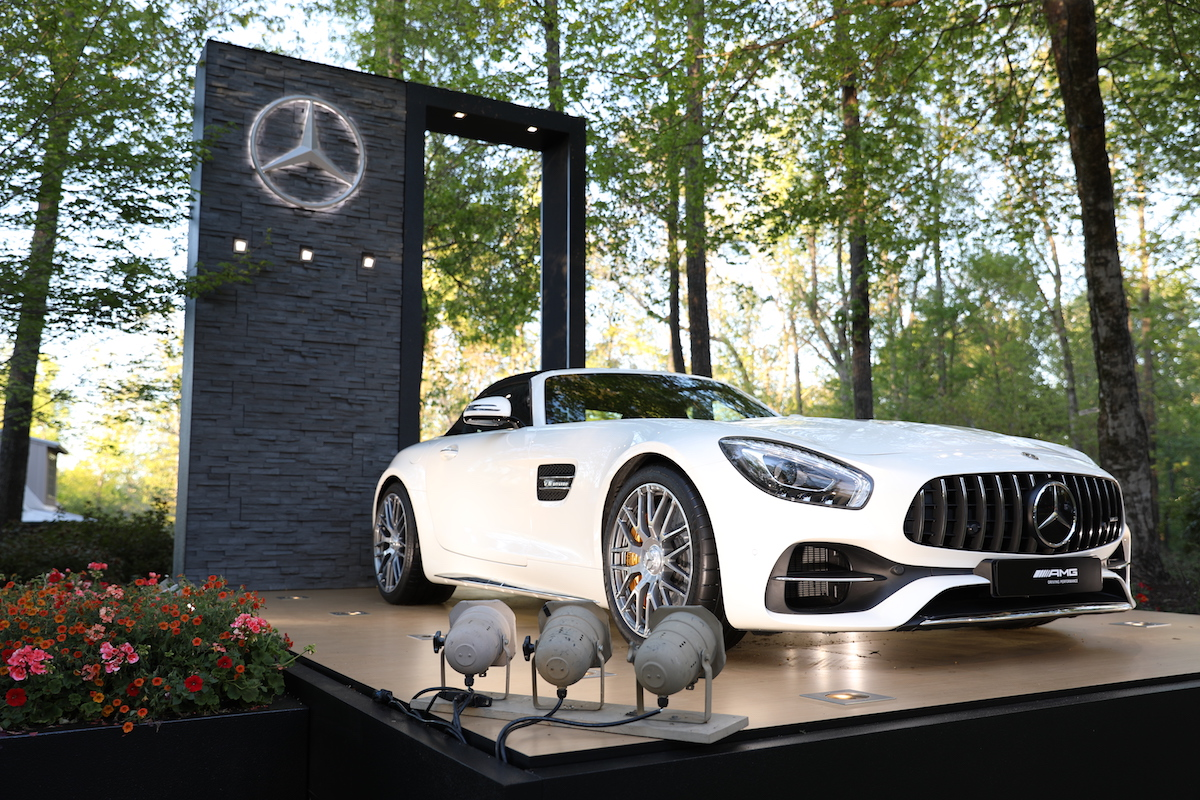 Experiencing The Masters with Mercedes-Benz