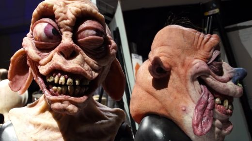 Realistic Ren and Stimpy Masks from Andrew Freeman