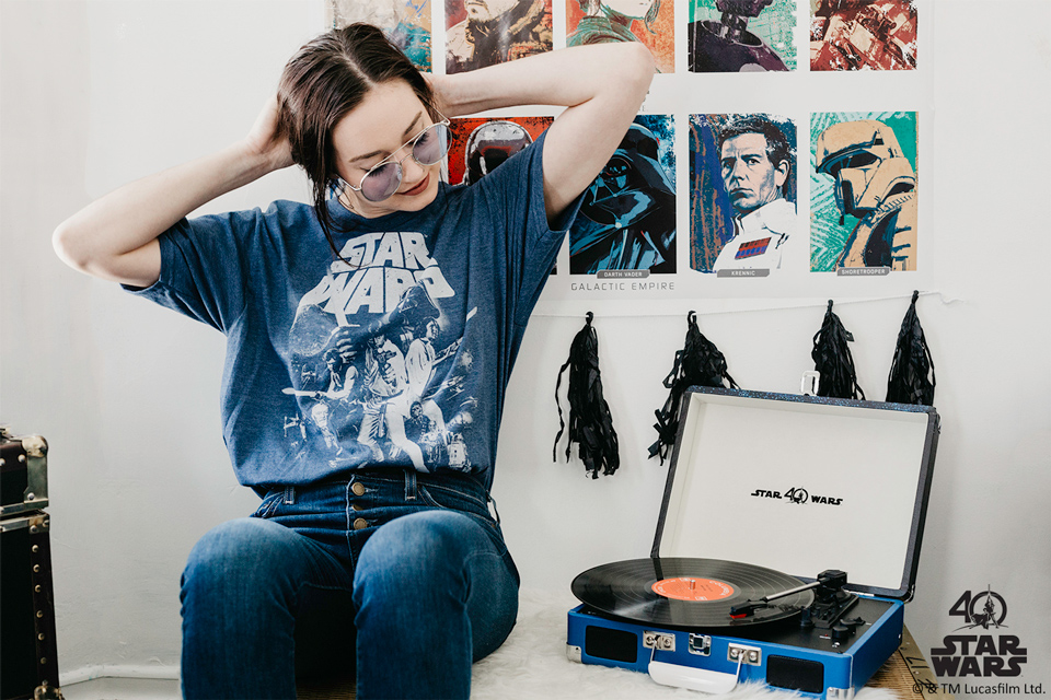 Crosley Radio Star Wars Turntable