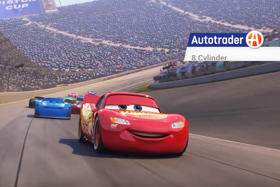 Autotrader and Pixar Team Up For \'Cars 3\' Collaboration
