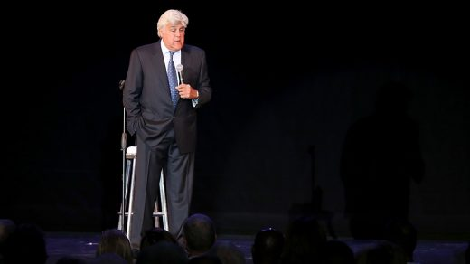 Jay Leno performing on the Carnival Vista - #CarnivalLIVE