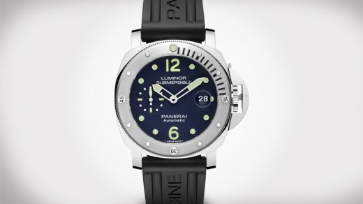 Panerai Luminor Acciaio Watch