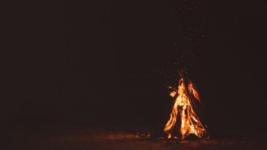 Bonfire in Los Angeles