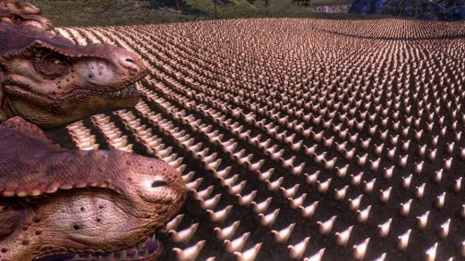 10,000 Chickens vs. 20 T-Rexes
