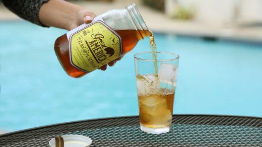 Great America Tea with Lemon by Pool