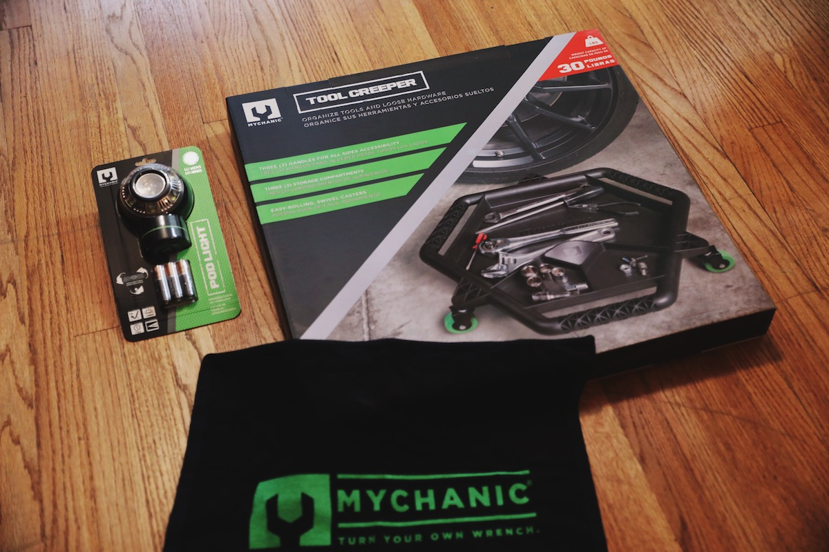 MYCHANIC Creeper Tool and POD Light