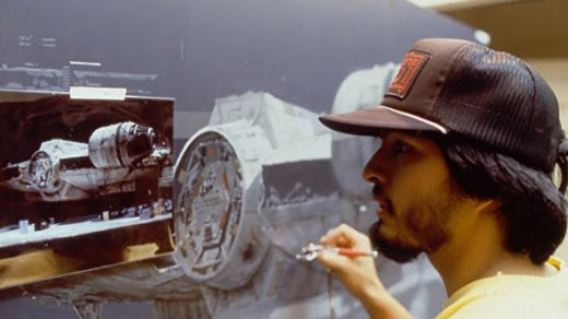 Original Star Wars Trilogy Matte Paintings