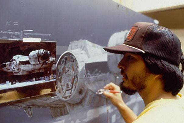 Original 'Star Wars' Trilogy Matte Paintings