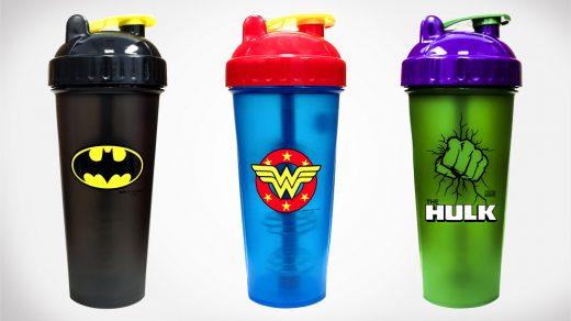 Superhero PerfectShaker Cups