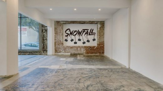 Snowfall FX Activation in Downtown LA