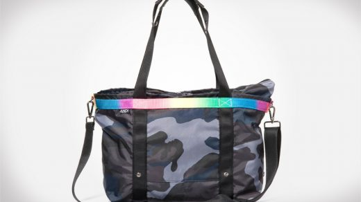The ANDI Ink Camo Colorchrome Tote
