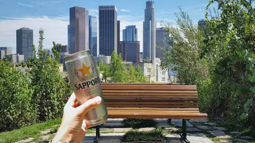 Enjoying Sapporo at Hermosa Park