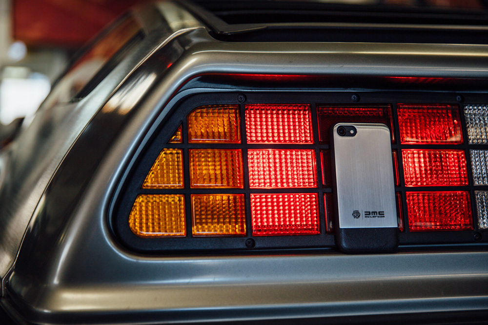 HEX x DeLorean iPhone Case