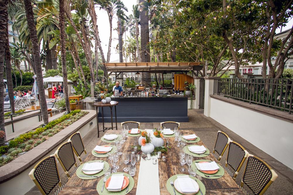 The Kitchen - Fairmont Miramar Hotel & Bungalows