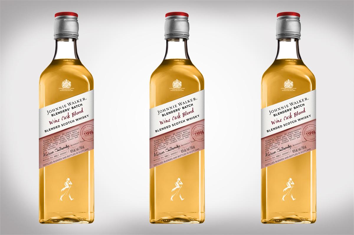 Johnnie Walker Launches Blenders' Batch Wine Cask Blend