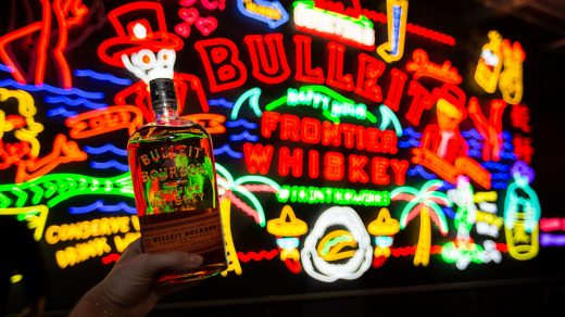 Bulleit Neon Sign Unveiling at Grand Central Market, Downtown LA