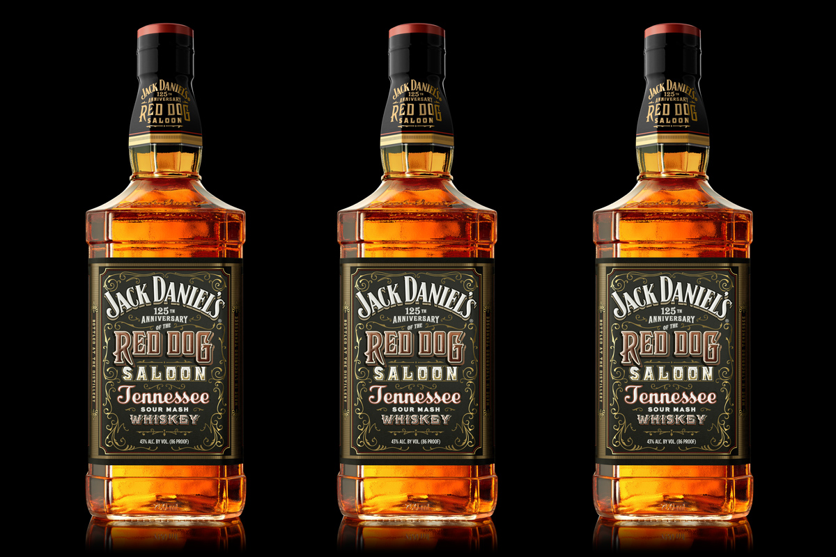 Jack Daniel's Red Dog Saloon Whiskey