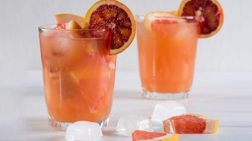 Rosé and Bourbon Cocktail Recipe