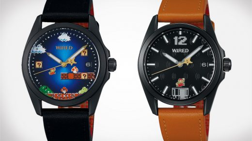 Wired Super Mario Bros. Timepieces
