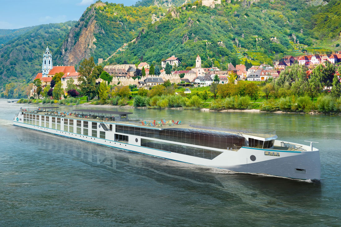 "Crystal River Cruises Introduces the New ""Rhine Class"" Crystal Mahler"