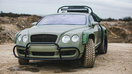Bentley Continental GT Rally Edition, as seen on Nat Geo Supercar Megabuild