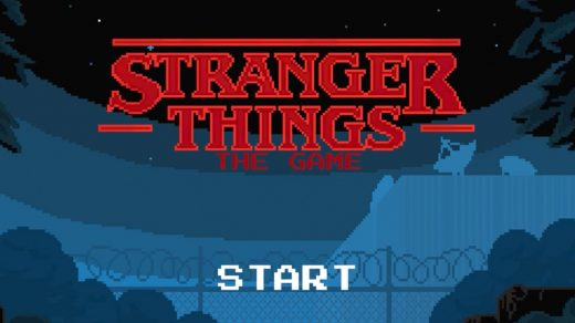 8-bit Stranger Things game for iOS and Android