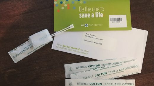 Be the Match DNA Swab Kit