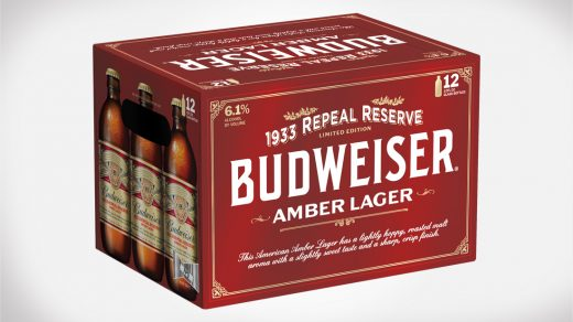 Budweiser Repeal Reserve Beer