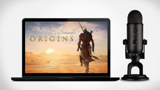 Blue Blackout Yeti + Assassins Creed Origins Streamer Bundle