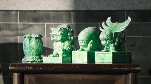 Alien & Predator Jade Style Figures