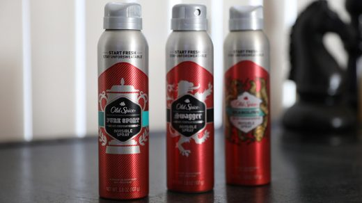 Old Spice Pure Sport Plus Invisible Spray
