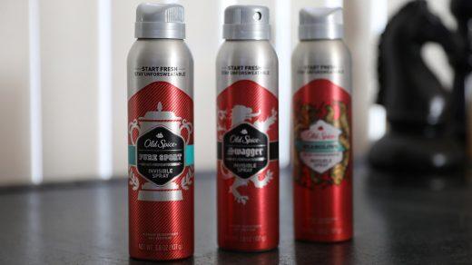 Old Spice Pure Sport Plus Invisible Spray
