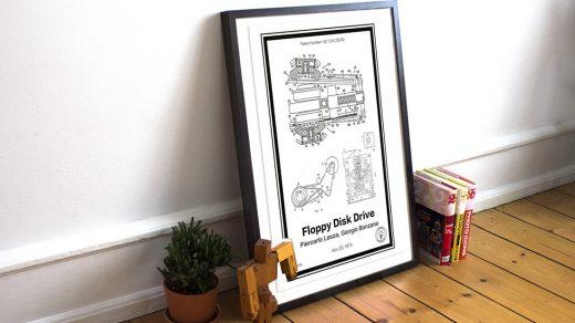 Retro Patent Prints