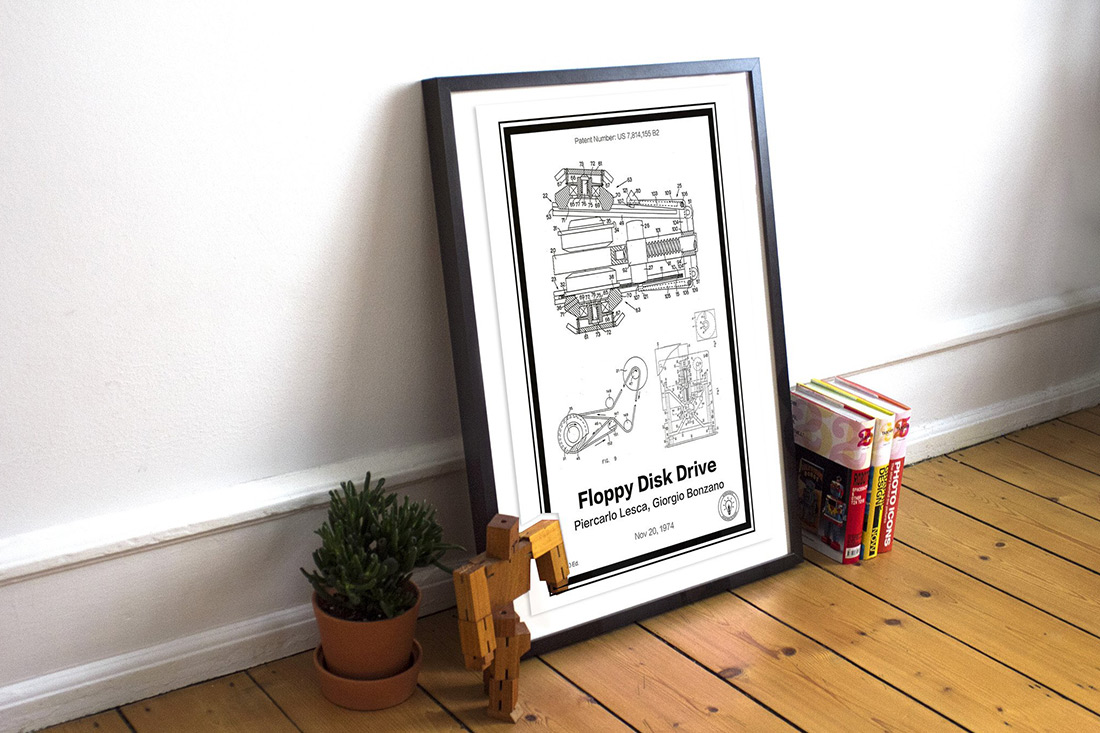 Retro Patent Posters Make a Great Gift for Just About Anyone