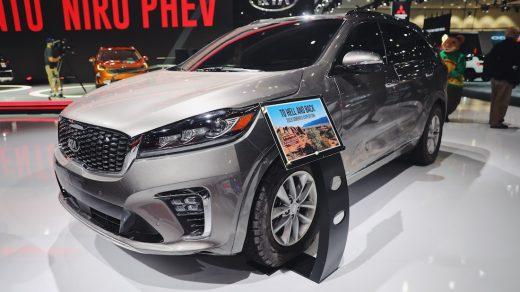 2019 Kia Sorento SUV at the LA Auto Show